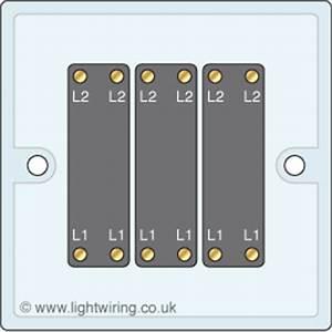 3 Gang Intermediate Light Switch