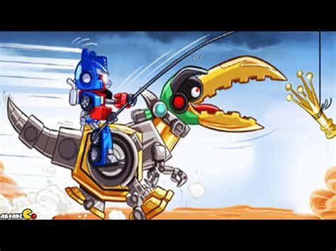 angry birds transformers unlocked gold bite grimlock max