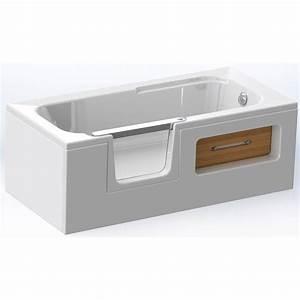 Porte Pour Baignoire : prix baignoire avec porte 2 baignoire douche leroy ~ Premium-room.com Idées de Décoration