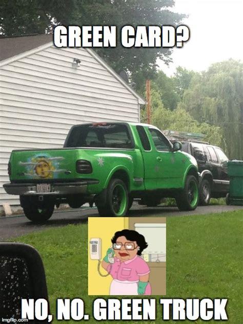 Green Card Meme - imgflip