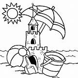 Coloring Sandcastle Sand Castle Printable Kool Abandoned Aid Preschool Sheets Colouring Cartoon Building Mermaid Designlooter Drawings 300px 87kb sketch template