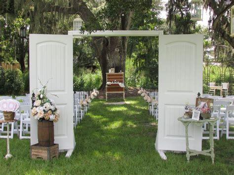 outdoor shabby chic wedding shabby chic wedding at cross creek ranch dover fl wedding pinterest shabby chic weddings