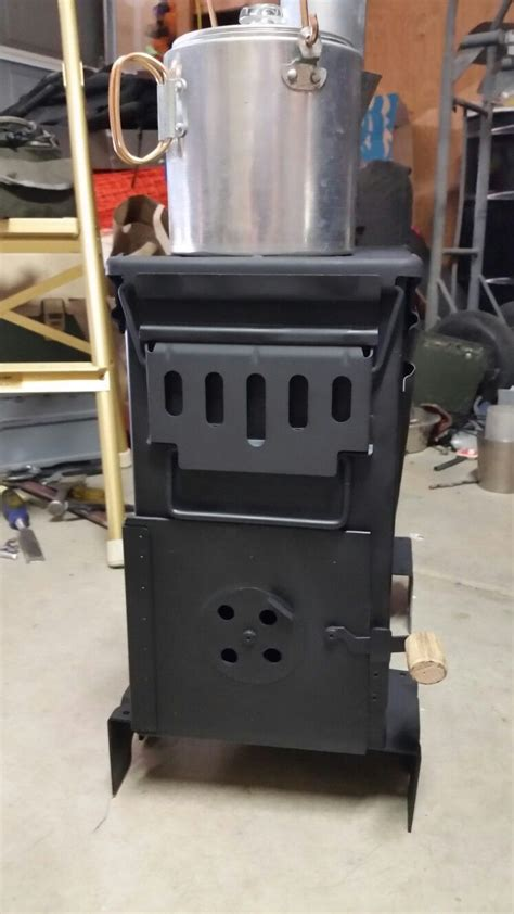 ammo  stove finished survival tips