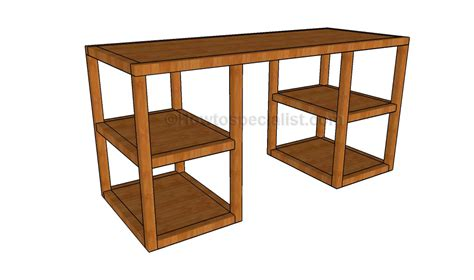 build  corner desk howtospecialist   build step  step diy plans