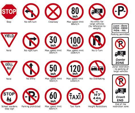 Irish Traffic Signs Irish Road Signs