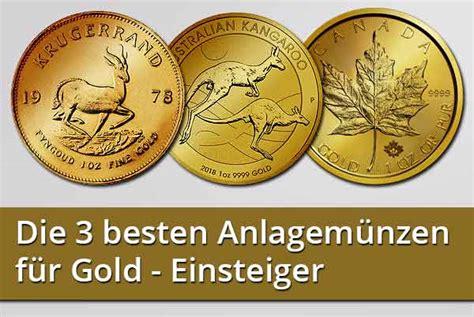 Die 3 Besten Anlagemünzen Für Gold Einsteiger
