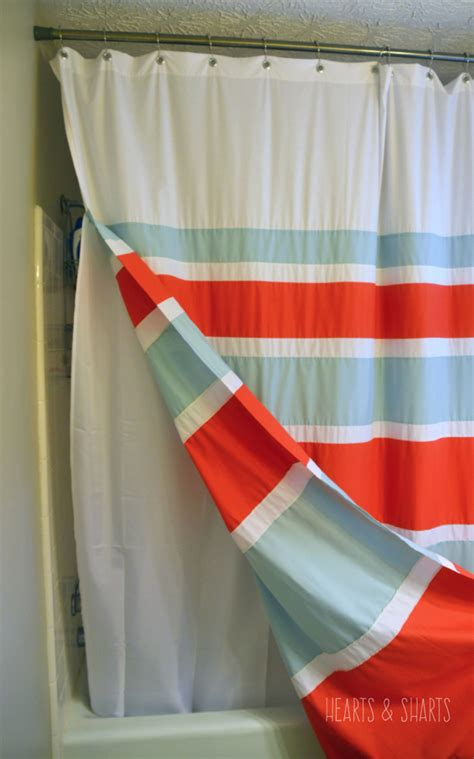 Curtains With Grommets Diy by Diy Shower Curtain With Grommets Hearts Sharts