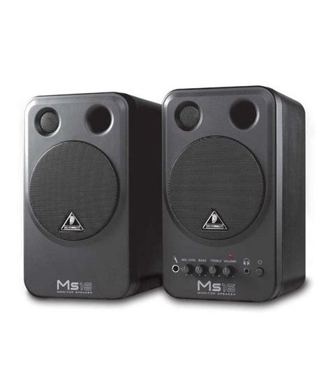 behringer monitor speakers ms16 buy behringer monitor