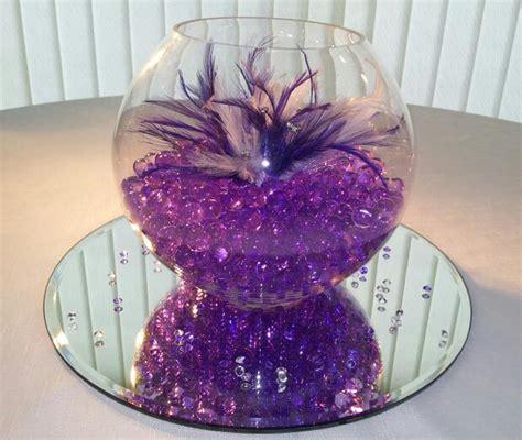 Lavender Flowers As Purple Wedding Centerpieces Purple