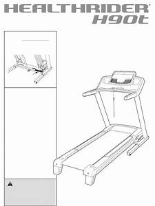 Healthrider Treadmill H90t User Guide