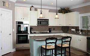 best wall color for kitchen with white cabinets With what kind of paint to use on kitchen cabinets for www wall art