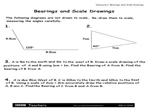 scale drawing worksheet worksheets releaseboard free