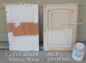 Pickled Oak Cabinets Wall Color by Using Chalk Paint For Oak Kitchen Cabinets Test Door