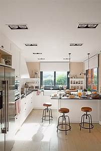 Cocinas, Blancas, Tendencias, En, Decoraci, U00f3n, De, Cocinas