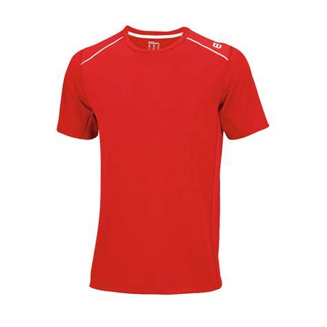 wilson nvision elite crew  shirt tennis clothing stringers world