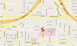 San Bernardino CA Map