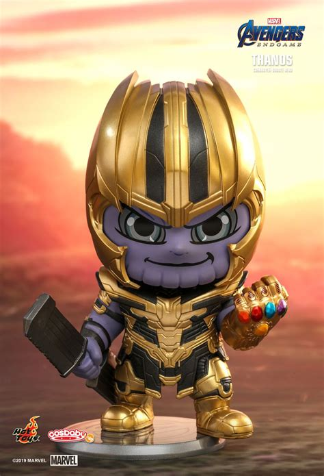 hot toys avengers endgame cosbaby cosbaby bobble head