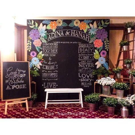 fr katering pelamin chalkboard