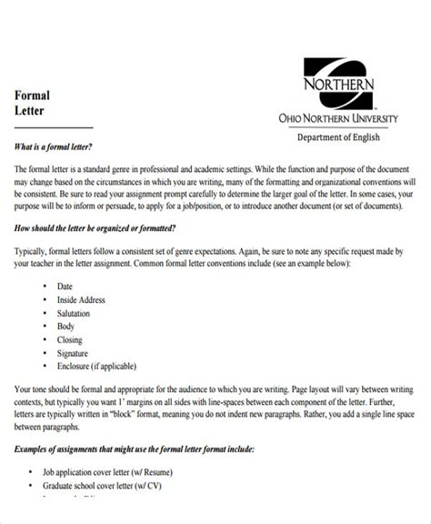 how to formally address a letter 7 sle addressing a formal letter sle templates 35182