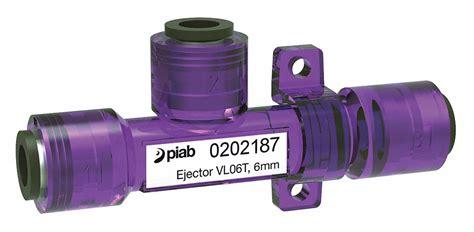 vacuum ejector inline  mm pressure port