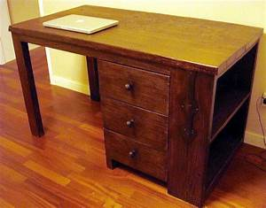 The insider: how to restore old wooden furniture Desk