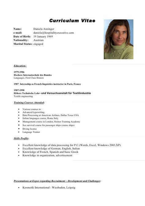 Curriculum Vitae Resume by Pin By Castillo On Curriculum Vitae Cv