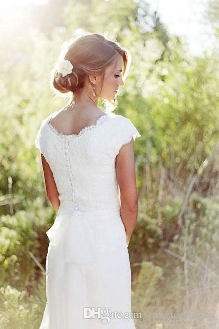 discount  elegant country lace wedding dresses mermaid