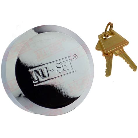 nuset master keyed hockey puck lock hidden shackle