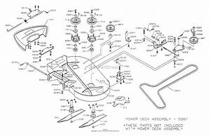 Dixon Ztr 4425  1999  Parts Diagram For Mower Deck 36 U0026quot