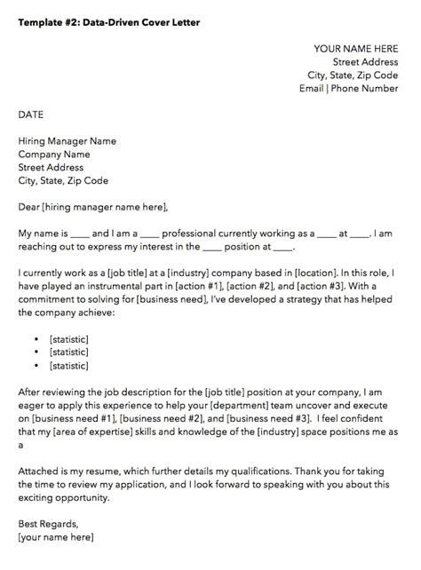 How To Sign A Cover Letter On Word by 10 Cover Letter Templates To Your Next Application