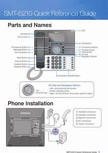 Samsung Answering Machine Smt I5210 Users Manual