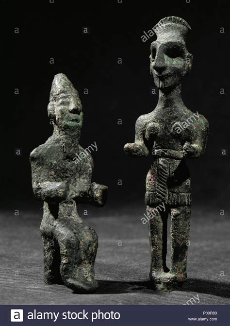 bronze figurine  baal stock  bronze figurine