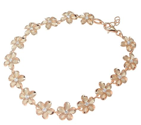 Pink Rose Silver Hawaiian Fancy Plumeria Flower Anklet Cz. Broad Bands. Water Filter Diamond. Double Rings. Thin Gold Bracelet. 14k Bangle Bracelet. Vintage Style Necklace. Technology Watches. Bangle Style