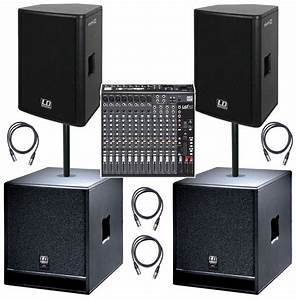 Ld Systems Stinger Live Band Pa System