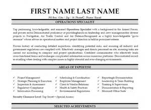 navy operations specialist resume operations specialist resume template premium resume sles exle