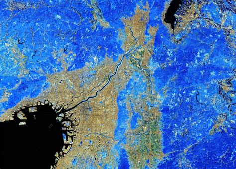 Earth From Space Kyoto And Osaka Japan Spaceref