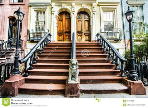 the door nyc chelsea nyc homes stock photo image of multi l