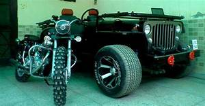Landi jeep bullet ford safari