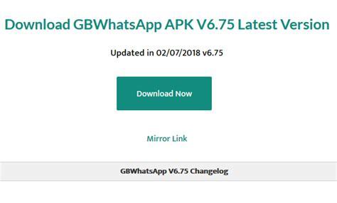 gb whatsapp uptodown app co