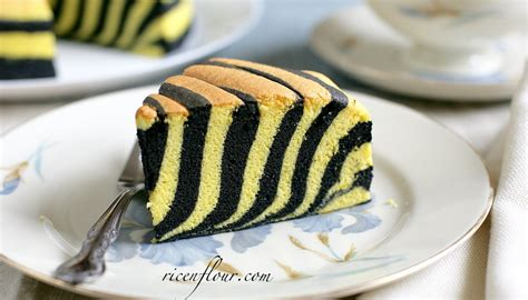 zebra ogura cake recipe  video rice  flour
