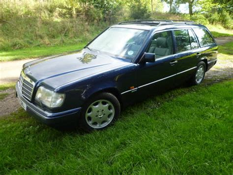 mercedes w124 e320 estate sportline sold 1995 on car and classic uk c244341