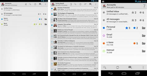 android email best email client on android gadgets