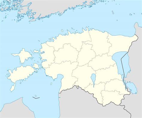 Ģeogrāfiskā karte - Igaunija - 1,668 x 1,393 Pikselis ...