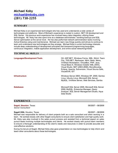 sle resume for software engineer 28 images 28 software sle resume with salary history 28 images software