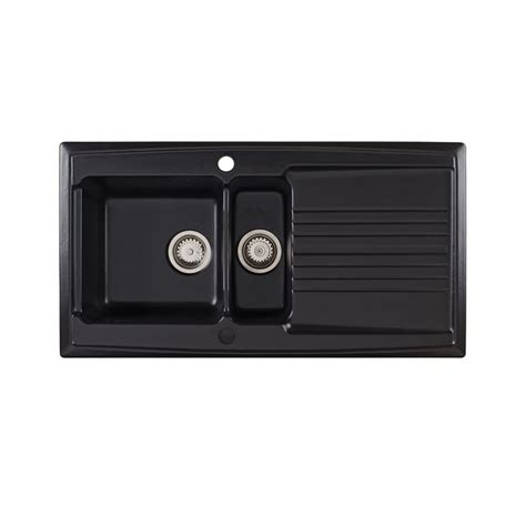 black ceramic kitchen sinks black sinks black kitchen sinks uk trade prices 4659