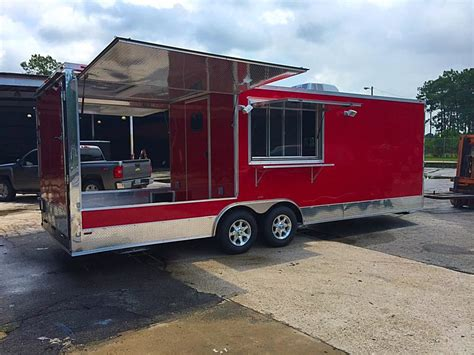 bbq trailer with porch porch concession trailer studio design gallery