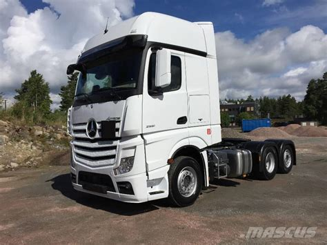 volvo tractor trailer for sale used mercedes benz actros 2551 ls sverigedragare tractor