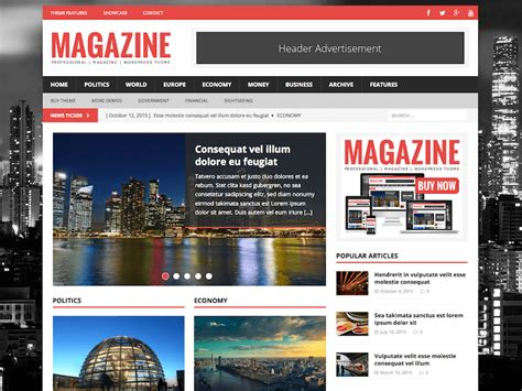 Best News Website 25 Best News Themes 2019 Athemes