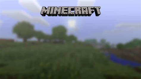 minecraft  menu  youtube
