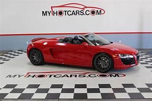 2011 Audi R8 5 2 Quattro Mt6 Spyder Stock   14098 For Sale